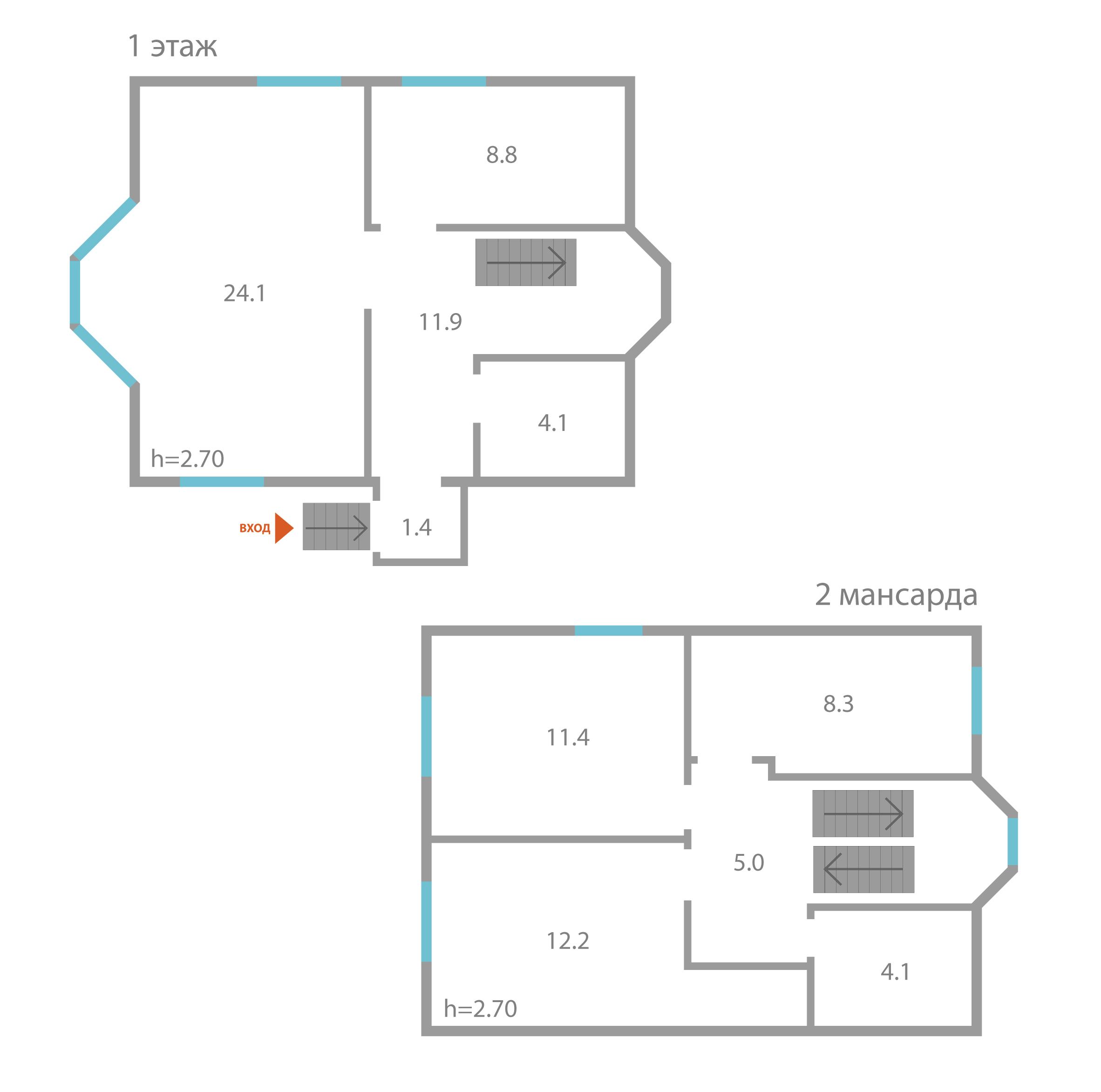 Участок с домом: площадь участка - 2,2 соток,   площадь дома - 2,2м^2,   цена - 7500000 тыс.руб.
