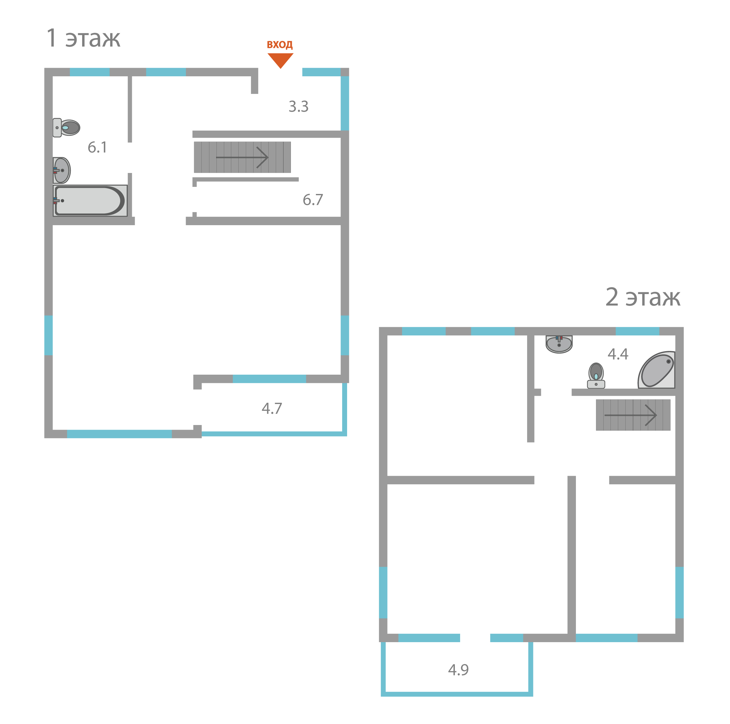 Участок с домом: площадь участка - 2 соток,   площадь дома - 2м^2,   цена - 11000000 тыс.руб.