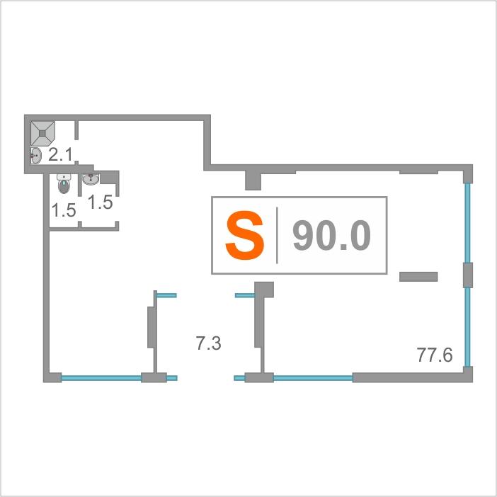 Нежилое помещение в жилом доме, продажа, КПД (50 лет Октября), г. Тюмень