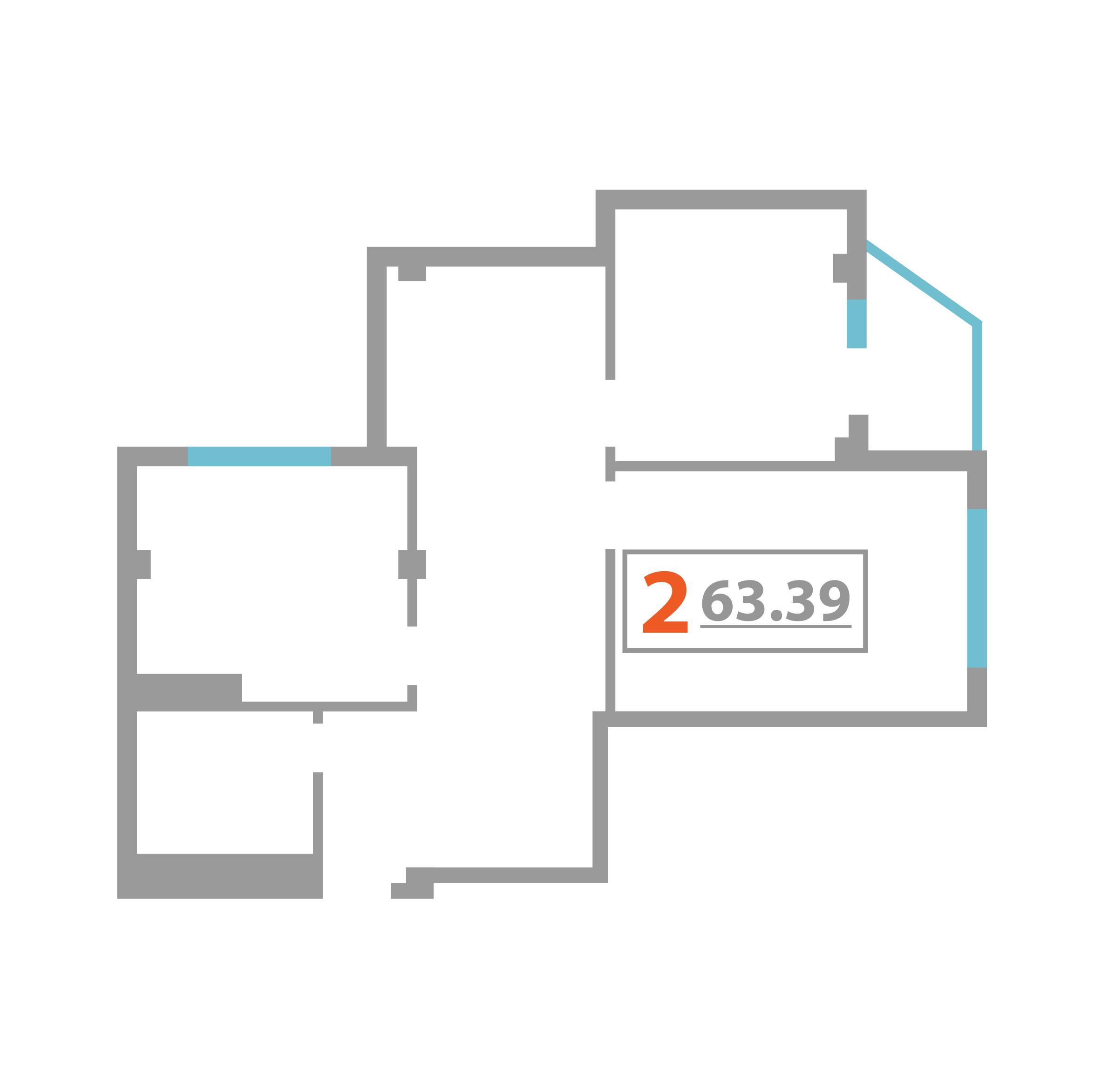 3 комнатная квартира  в районе Больничный Городок, ул. Дагомысская, 27, ЖК «Александрит», г. Сочи