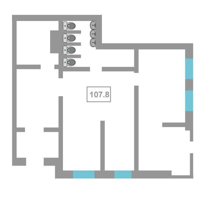 Нежилое помещение в жилом доме, продажа, Заречный 5 мкр., г. Тюмень