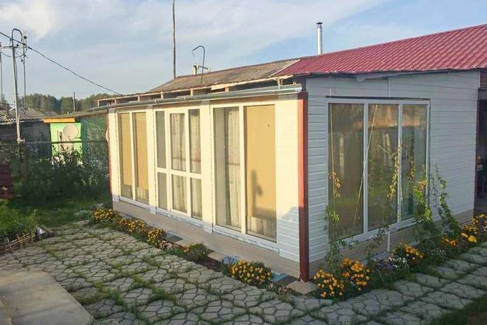 половина частного дома с баней, п. Кунчур, по Тобольскому тракту