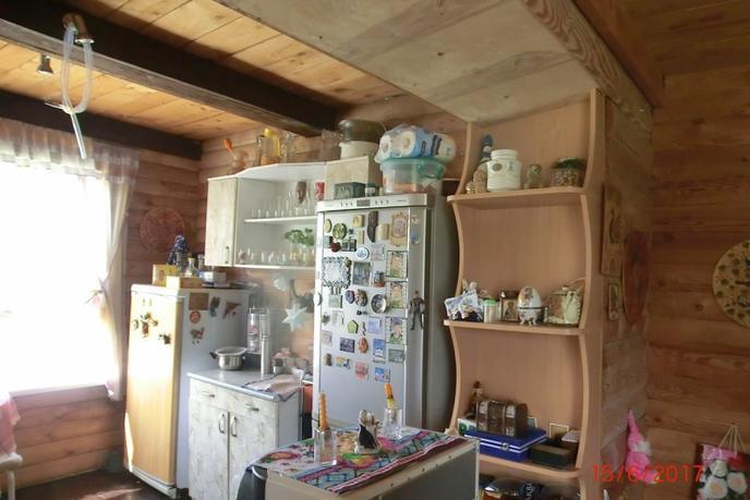 красивый дом с баней, п. Сибиряк, Абалакский тракт
