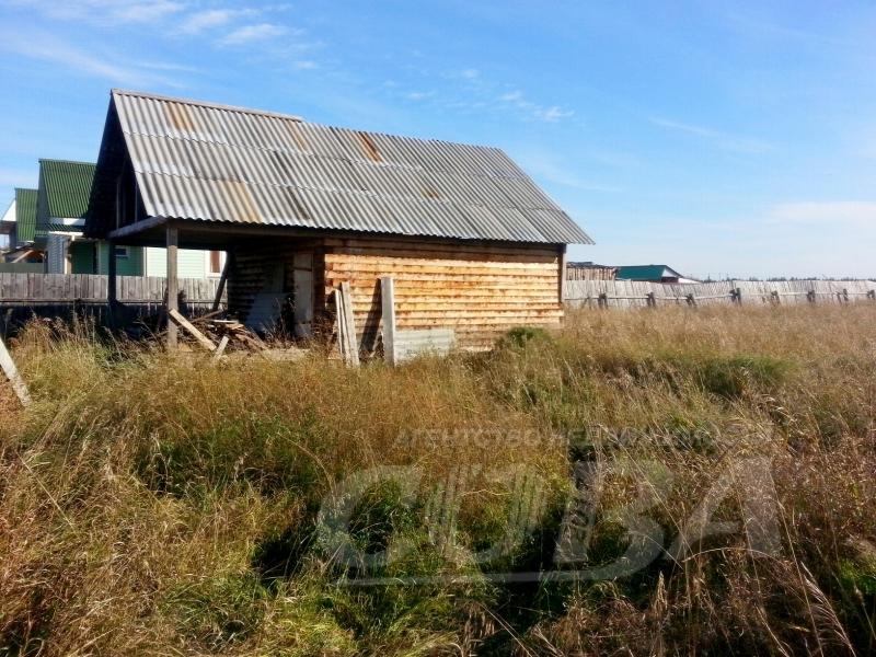 Недостроенный дом, п. Тугулым, по Московскому тракту