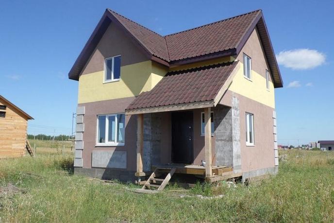Недостроенный дом, в районе Альпийская долина, с. Кулига, по Ирбитскому тракту, Коттеджный поселок Альпийская Долина