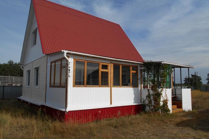 Дом у реки с баней, с. Ботники, по Червишевскому тракту