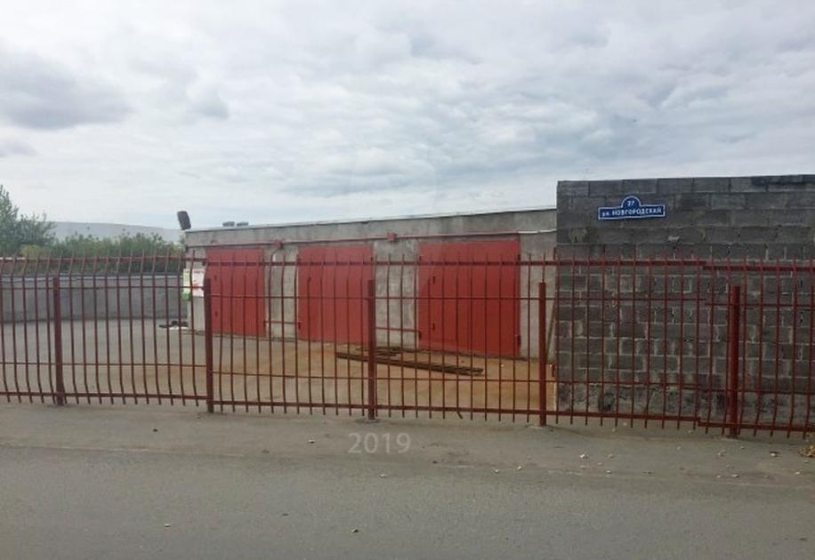 Гараж капитальный в районе Дома печати, г. Тюмень, ГК «Новгородская 27»