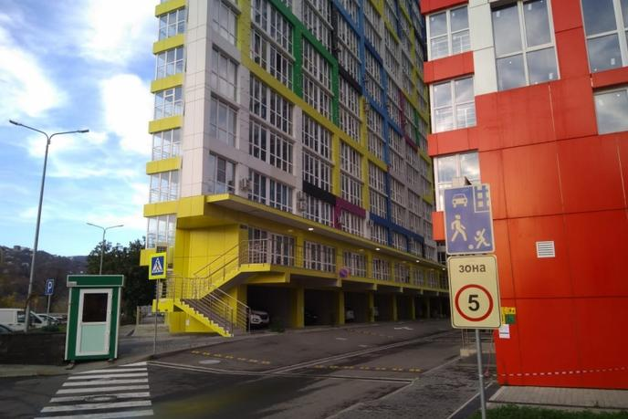 3 комнатная квартира  в районе Макаренко, ул. Пластунская, 123А, ЖК «Раз Два Три», г. Сочи