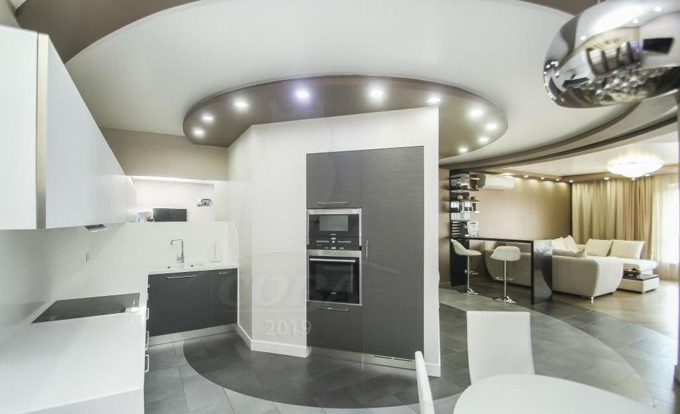 4 комнатная квартира  в районе Драмтеатра, ул. Максима Горького, 68, ЖК «Даудель», г. Тюмень