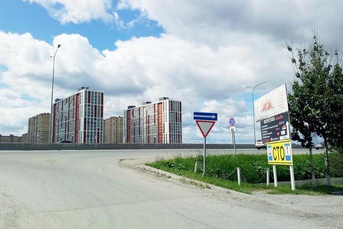 Участок общественно деловое, в районе Московского тр., г. Тюмень