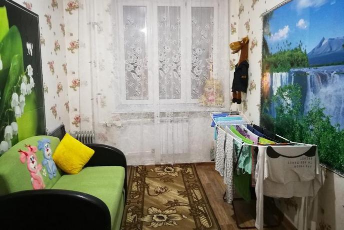 2 комнатная квартира  в районе Центральная часть, ул. Нефтяников, 14, п. Богандинский