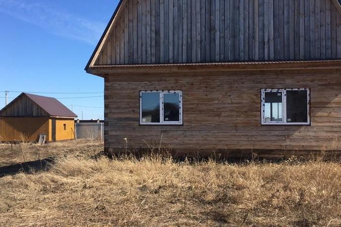 Строящийся дом, с/о Товарищество собственников недвижимости Серебряный бор, в районе Старый тобольский