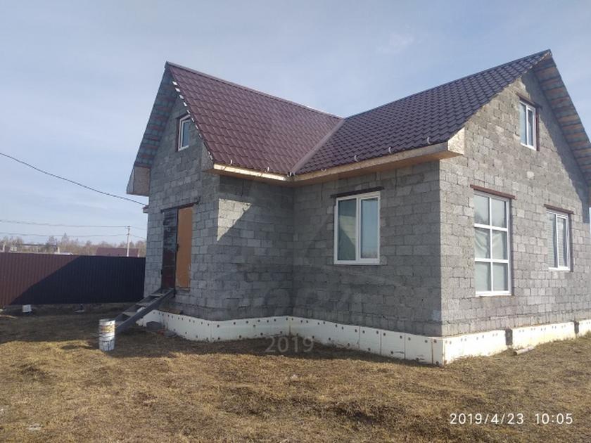Недостроенный дом с баней, д. Московка, по Велижанскому тракту