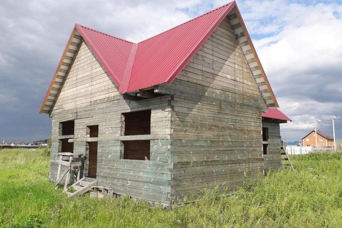 Загородный дом, в районе Центральная часть, д. Есаулова, в районе Старый тобольский