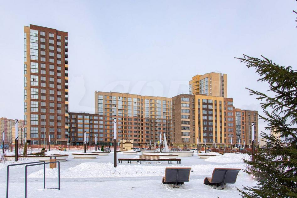 3 комнатная квартира  в новом доме,  в районе Тюменская слобода, ЖК «Интеллект-Квартал», г. Тюмень