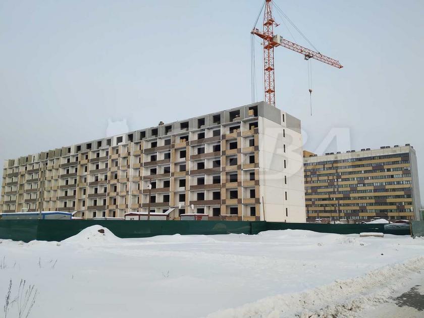 1 комнатная квартира  в новом доме,  в районе Плеханово, Жилой комплекс «Москва», г. Тюмень