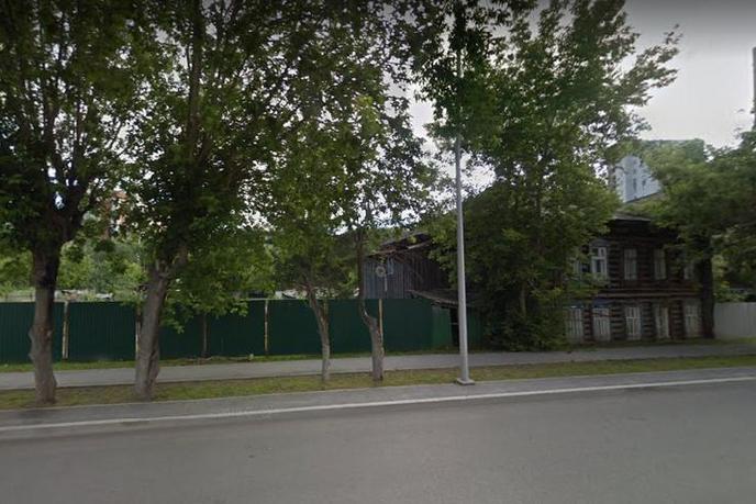 Участок общественно деловое, в деловом центре, г. Тюмень