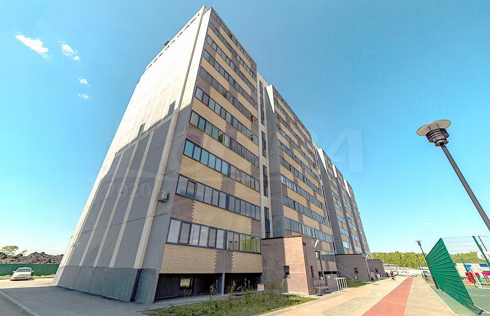Студия в новом доме,  в районе Плеханово, Жилой комплекс «Москва», г. Тюмень