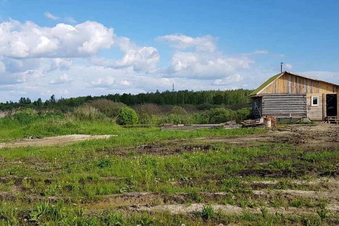 Строящийся дом с баней, п. Велижаны, по Велижанскому тракту