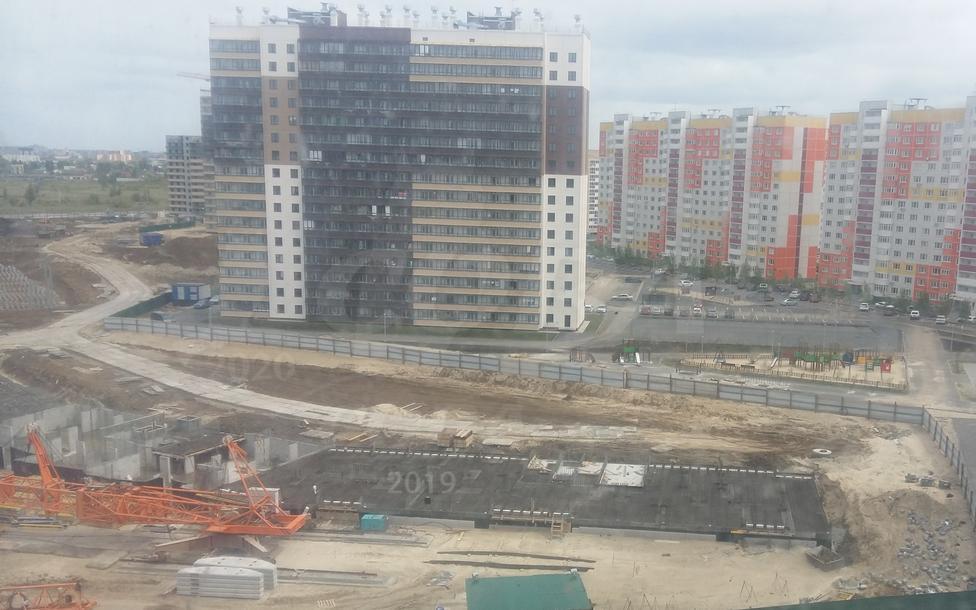 2 комнатная квартира  в новом доме,  в районе Плеханово, Жилой комплекс «Москва», г. Тюмень