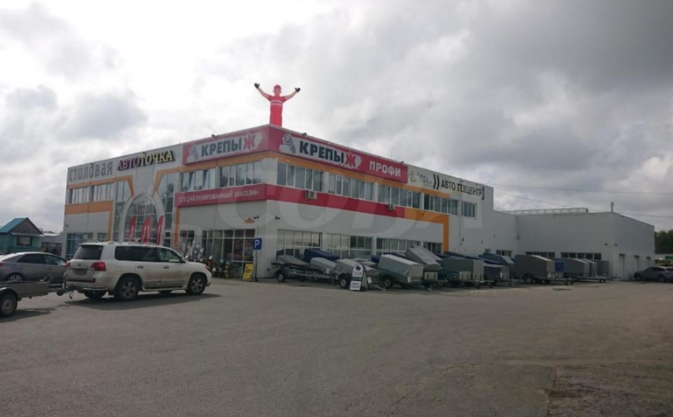 Нежилое помещение в отдельно стоящем здании, аренда, в районе Ожогина / Патрушева, г. Тюмень