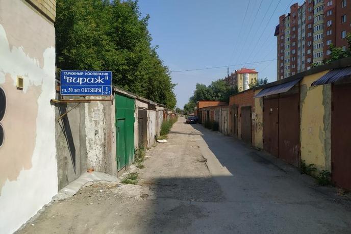 Гараж капитальный в районе Дома печати, г. Тюмень, ГК