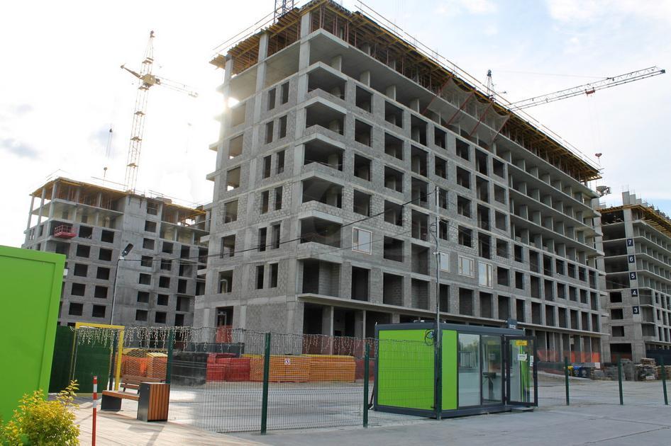 1 комнатная квартира  в новом доме,  в районе Док, Жилой квартал «Октябрьский», г. Тюмень