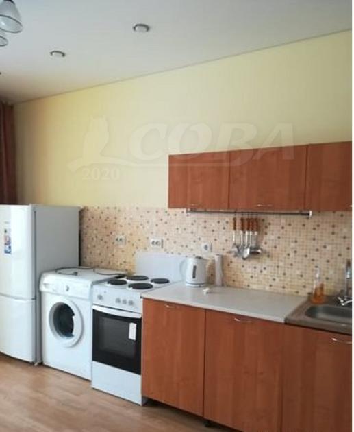 1 комн. квартира в аренду в Тюменском-4 мкрн., ул. Николая Зелинского, г. Тюмень