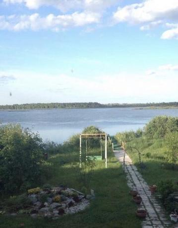 дом у озера с баней, д. Субботина, в районе Старый тобольский