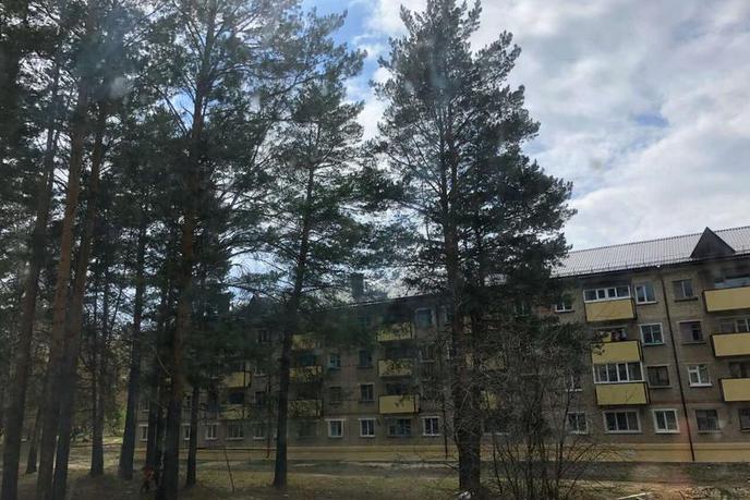 2 комнатная квартира  в районе с. Сосновое, ул. Октября, 7, п. Богандинский