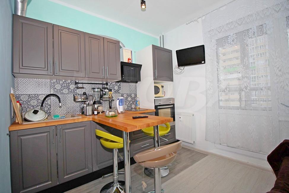 1 комнатная квартира  в районе Мыс, ул. Парада Победы, 7, ЖК «Зеленый мыс», г. Тюмень