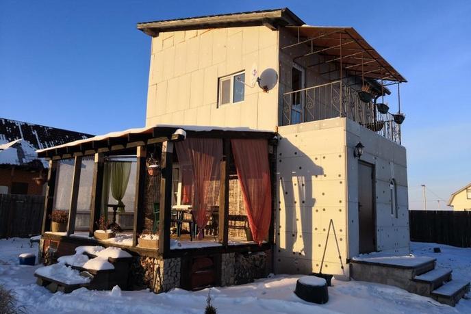 Загородный дом, в районе КП Усадьба Есаулова, д. Есаулова, в районе Старый тобольский