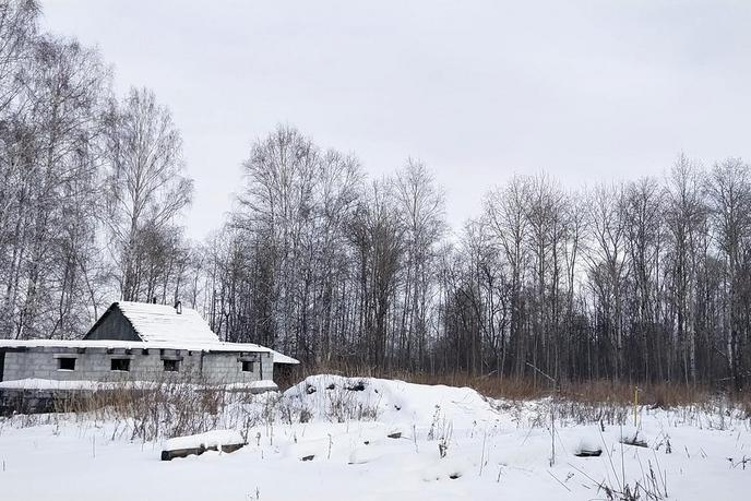 Недостроенный дом, д. Коняшина, по Ирбитскому тракту
