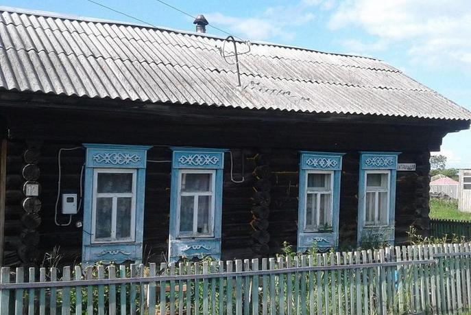Ветхий дом с баней, с. Беляковское, по Московскому тракту