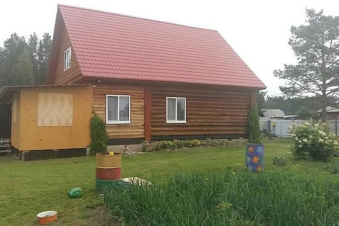 Загородный дом с баней, с. Леваши, по Червишевскому тракту