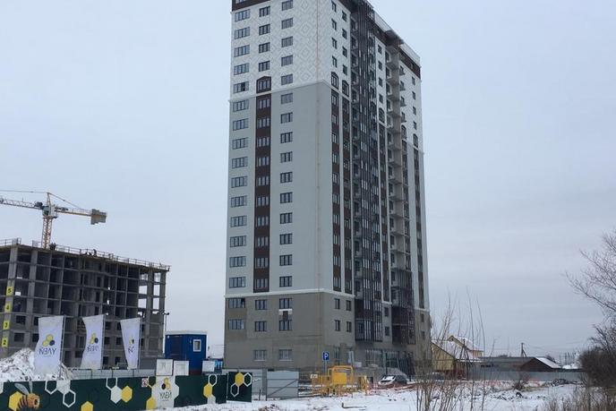 2 комнатная квартира  в новом доме,  в районе Матмасы, ЖК «Дебют», г. Тюмень
