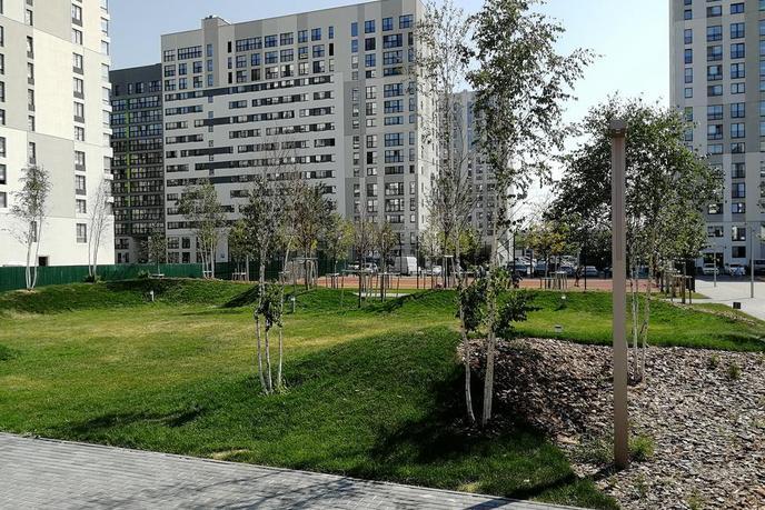 1 комнатная квартира  в новом доме,  на КПД в районе 50 лет Октября, ЖК «Новин», г. Тюмень