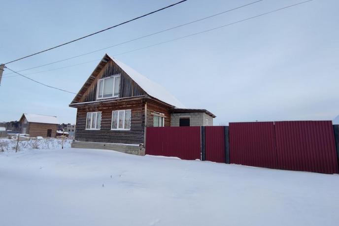 Загородный дом с баней, в районе Центральная часть, д. Есаулова, в районе Старый тобольский