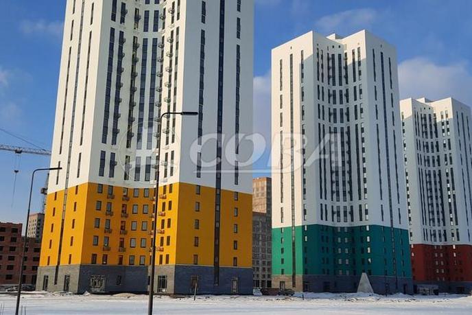 2 комнатная квартира  в новом доме,  в районе Воровского, ЖК «Республика», г. Тюмень