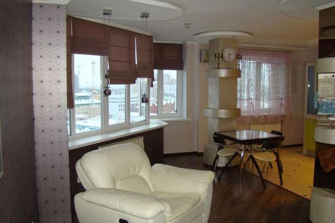 2 комнатная квартира  в районе ТРЦ Вершина, ул. Мира Проспект, 55, г. Сургут