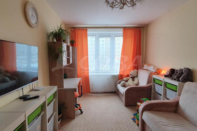 1 комнатная квартира  в Тюменском-3 мкрн., ул. Николая Зелинского, 23, г. Тюмень