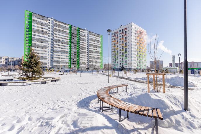 1 комнатная квартира  в районе Югра, ул. Велижанская, 66, ЖК «Заречный», г. Тюмень