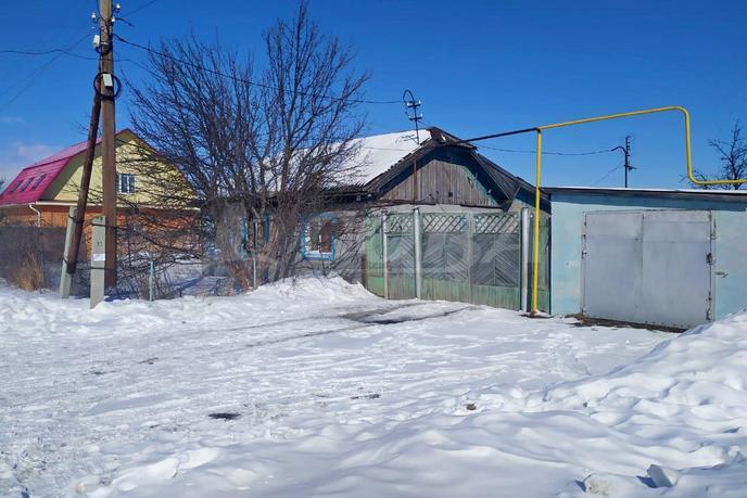 половина частного дома, с. Горьковка, в районе на Горьковку