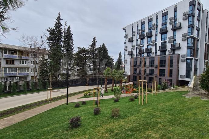 1 комнатная квартира  в новом доме,  в районе Приморье, АК «Моравия», г. Сочи