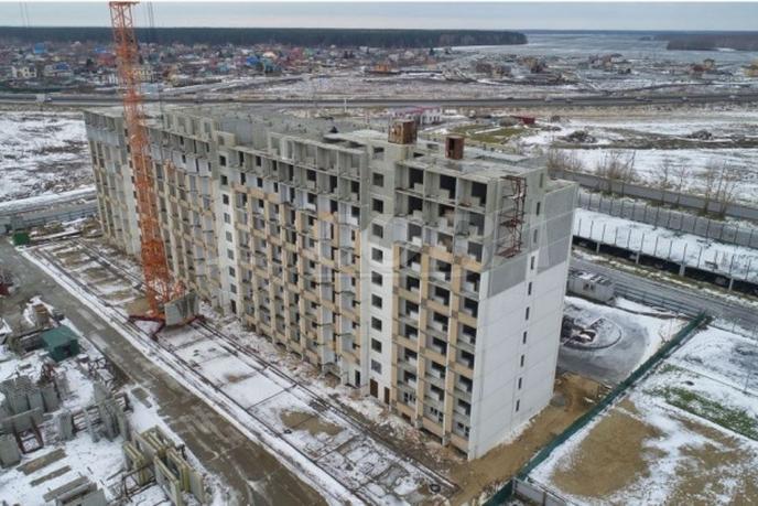 Студия в новом доме,  в районе Плеханово, ЖК «Москва», г. Тюмень