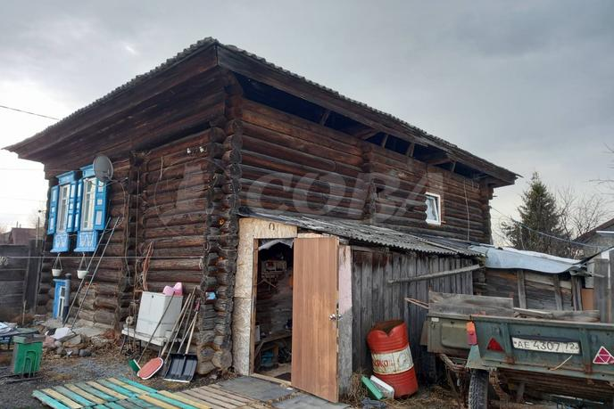половина частного дома, д. Молчанова, по Салаирскому тракту