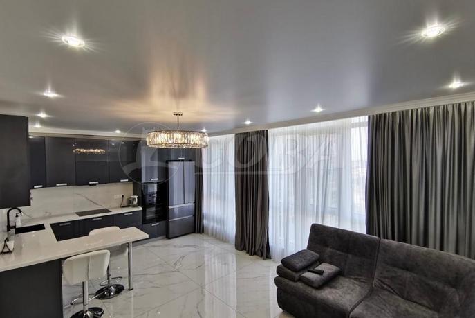 3 комнатная квартира  в районе Макаренко, ул. Пластунская, 123А/2, ЖК «Раз Два Три», г. Сочи