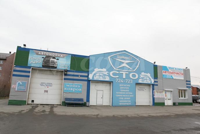 СТО, Автомойка, АЗС в отдельно стоящем здании, продажа, в районе центральная часть, п. Боровский
