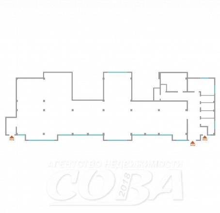 Торговое помещение в в жилом доме, продажа, в районе Совхоз России, г. Сочи, код 14528 - планировка