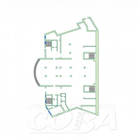 Нежилое помещение в в отдельно стоящем здании, продажа, в районе Чкаловский, г. Сочи, код 14635 - планировка